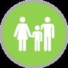 Familie-Grün